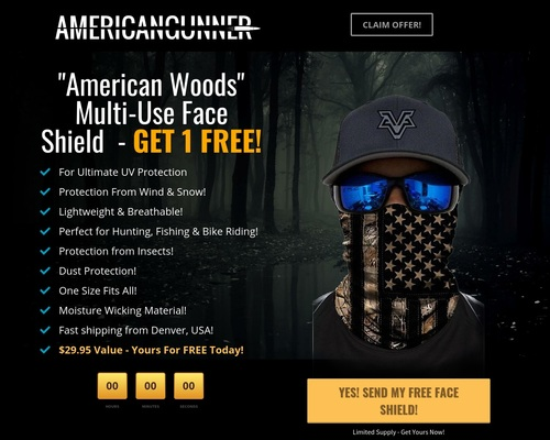 American Woods Face Shield