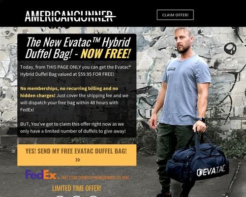 Evatac - Gear For Tactical Minds: Assault Bag
