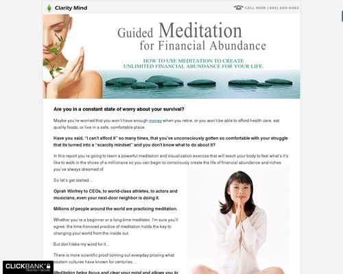 How To Use Meditation to Create Unlimited Financial Abundance In Your Life |