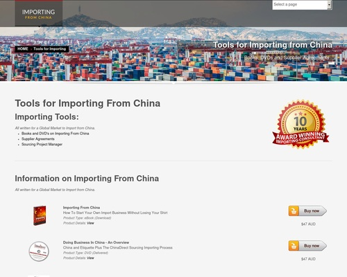 DIY Importing From China