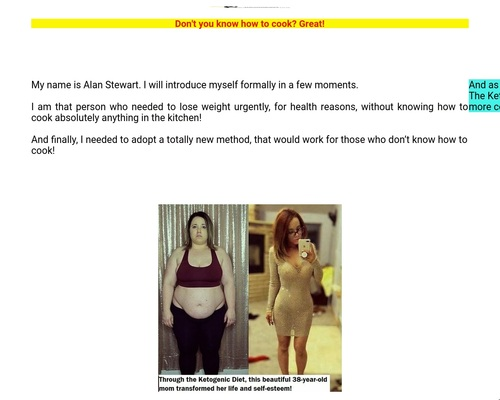 The Simple and Easy Ketogenic Diet for Those Who Are Not Used To Cook –