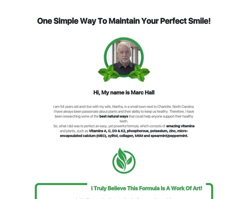 Dentitox Pro - Text Presentation